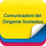 COMUNICAZIONE DIRIGENTE SCOLASTICO
